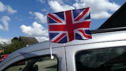 Window Car Flags